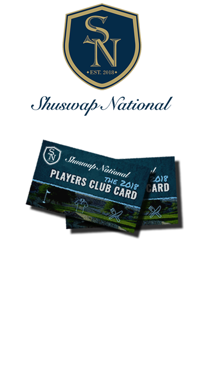 Shuswap National Players Card
